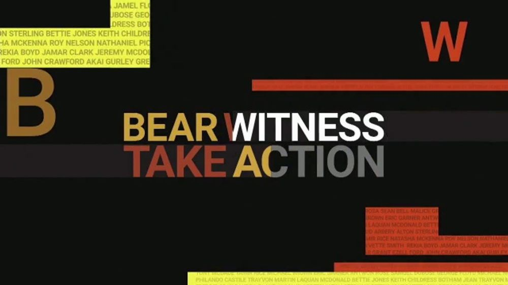 "YouTube anuncia ""Bear Witness, Take Action"""
